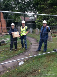 The Churchwardens - or Bob the Builder?